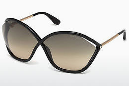 Óculos de marca Tom Ford Bella (FT0529 01B) - Preto, Shiny