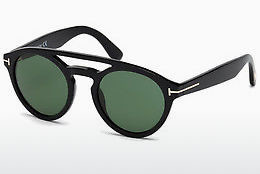 Óculos de marca Tom Ford Clint (FT0537 01N) - Preto, Shiny
