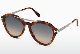 Óculos de marca Tom Ford FT0576 53B - Havanna, Yellow, Blond, Brown