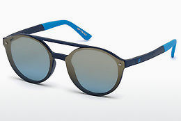 Óculos de marca Web Eyewear WE0184 91X - Azul, Matt