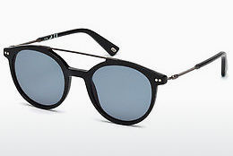 Óculos de marca Web Eyewear WE0185 01V - Preto, Shiny