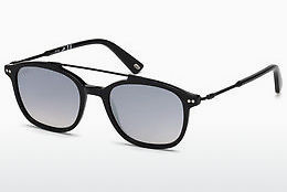Óculos de marca Web Eyewear WE0186 01C - Preto, Shiny
