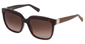 Escada SES446 0722 BROWN GRADIENTSHINY DARK HAVANA