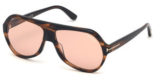 Tom Ford FT0732 48E braunbraun dunkel glanz
