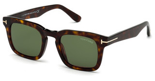 Tom Ford FT0751 52N grünhavanna dunkel