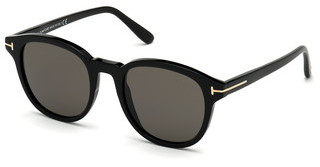Tom Ford FT0752 01D grau polarisierendschwarz glanz