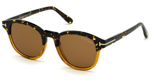 Tom Ford FT0752 55E braunhavanna bunt