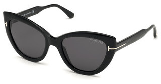 Tom Ford FT0762 01A grauschwarz glanz