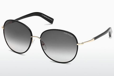 Óculos de marca Tom Ford Georgia (FT0498 01B)