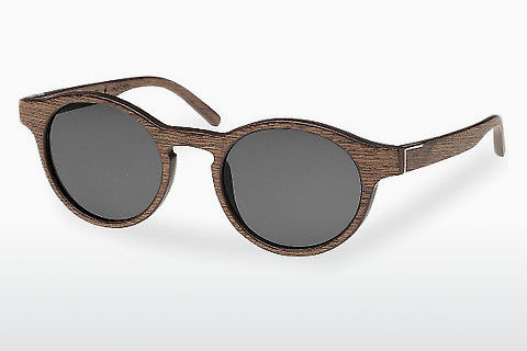 Óculos de marca Wood Fellas Flaucher (10754 black oak/grey)