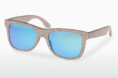 Óculos de marca Wood Fellas Prinzregenten (10755 chalk oak/blue)