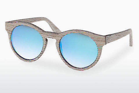 Óculos de marca Wood Fellas Au (10756 chalk oak/blue)