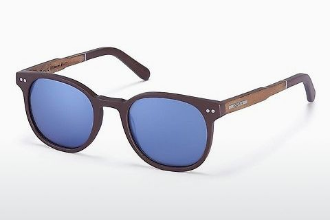 Óculos de marca Wood Fellas Pottenstein (10772 zebrano)