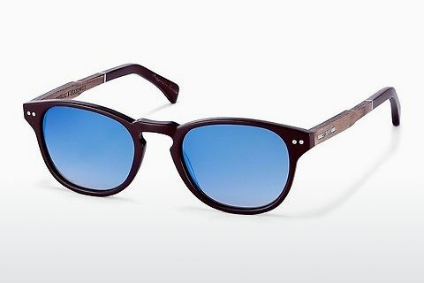 Óculos de marca Wood Fellas Stockenfels (10775 zebrano)
