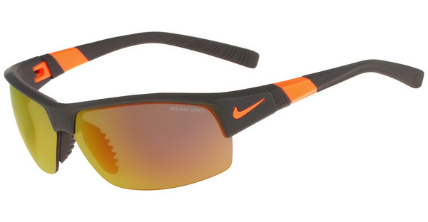 Nike   SHOW X2 R EV0822 208 MATTE DEEP PEWTER/TOTAL ORANGE/SHATTER WITH GREY W/ ML ORANGE FLASH /GREY