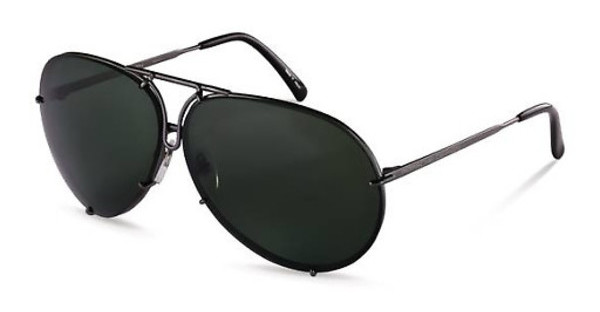 Porsche Design   P8478 C green + extra lens dark orange, s.m.grey mat