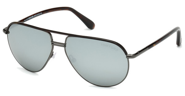 Tom Ford   FT0285 52F grau verspiegelthavanna dunkel